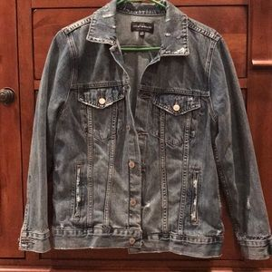 New without tags Lucky Brand denim jacket